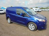 Ford Transit Connect 1.6 Tdci 115Ps Limited Van DIESEL MANUAL BLUE (2015)