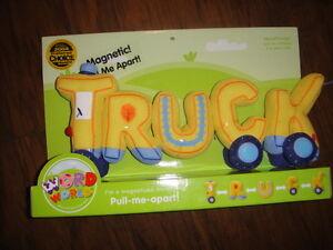 Rare New Word World Truck Magnetic Plush Ebay