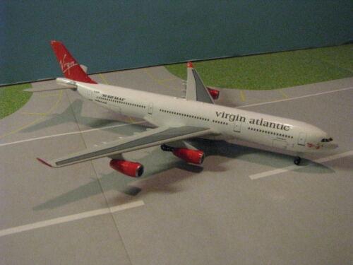 HASEGAWA (614024) VIRGIN ATLANTIC A340-311 1:400 SCALE DIECAST METAL MODEL