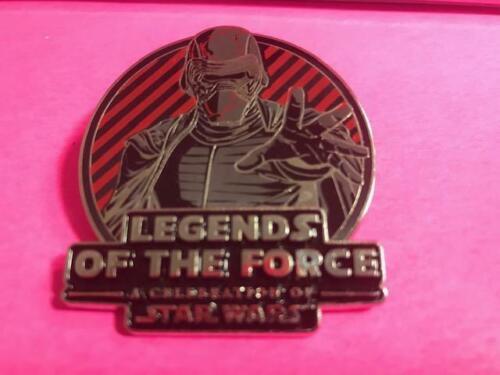 DLRP DLP Disney Land Paris Star Wars Legends Of The Force Kylo Ren Pin