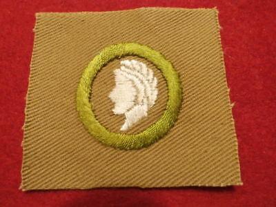 Square Merit Badge - Sculpture - Pristine