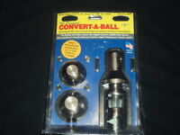 Convert A Ball 800b  Change sizes without tools -