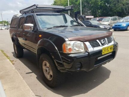 2004 Nissan Navara D22 S2 ST-R Black Manual Utility Hamilton North Newcastle Area Preview