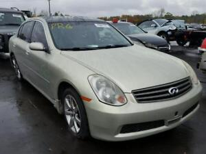 parting out 2005 infiniti g35 awd