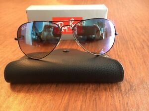RAY-BAN  3025 002/40 Aviator Sunglasses Mirror Glass Lens ~ 58mm