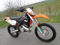 KTM 300 EXC 2009 ENDURO ROAD REGISTERED ELECTRIC START MX MOTOCROSS BIKE