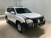 2014 Toyota Landcruiser Prado KDJ150R MY14 GXL (4x4) Glacier White 5 Speed Sequential Auto Wagon Bohle Townsville City Preview