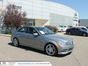 2011 Mercedes-Benz C-Class C 350/2 SETS OF TIRES/ALL WHEEL DRIVE