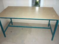 office or workshop tables and chairs