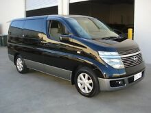 2002 Nissan Elgrand E51 X Black/Grey 5 Speed Automatic Mini Bus Brompton Charles Sturt Area Preview