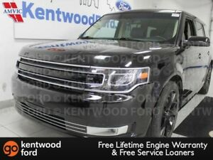 2018 Ford Flex Limited AWD with heated power leather seats, powe