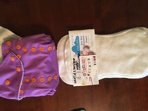 CLOTH DIAPER - Simplee Bamboo - orchid purple