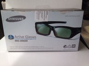 Samsung SSG-2200AR Re-Chargeable Adult 3-D Glasses - Black