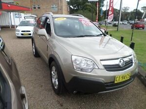 2010 Holden Captiva CG MY10 5 (4x4) Silver 5 Speed Automatic Wagon Sylvania Sutherland Area Preview