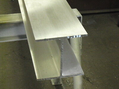 Aluminum I Beam 6 X .240 X 6 X 12 Long  6061-t6 Mill Finish
