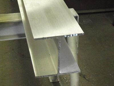 Aluminum I Beam 6 X .240 X 6 X 48 Long  6061-t6 Mill Finish