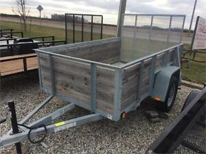 Brand New 2017 Force Galvanized Utility Trailer London Ontario image 1