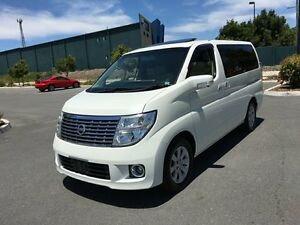 2005 Nissan Elgrand Series 2 G E51 White 5 Speed Automatic Wagon Biggera Waters Gold Coast City Preview