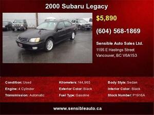 2000 Subaru Legacy Sedan GT only 144,965KM