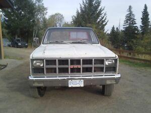 1981 GMC Sierra 2500 Pickup Truck