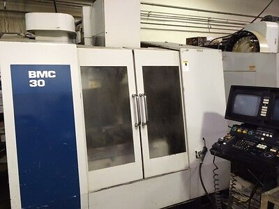 1997 Hurco Bmc 30 Vertical Machining Center Mill Ct40 24 Station Atc Utimax Cnt