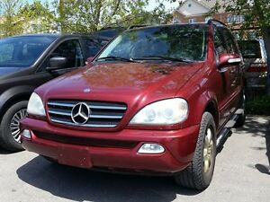 2002 Mercedes-Benz ML-Class LOW KM-BEST DEAL -FINAL SALE