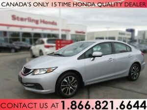 2014 Honda Civic Sedan EX | 1 OWNER | NO ACCIDENTS