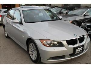 2007 BMW 3 Series 328xi AWD *ONE OWNER   NO ACCIDENTS   LOW KM*
