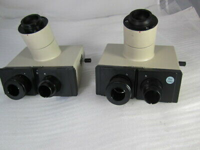 Olympus Microscope Trinocular Head For Bh Series Takes 23mm Eye Pieces