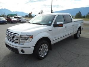 2013 FORD F-150 - Pickup Truck PLATINUM SUPERCREW 6