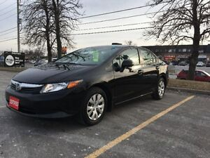 2012 Honda Civic EX Sedan! Amazing Condition! Certified!