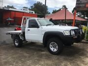 2008 Nissan Patrol GU MY08 DX (4x4) 5 Speed Manual Leaf Cab Chassis Oxley Brisbane South West Preview