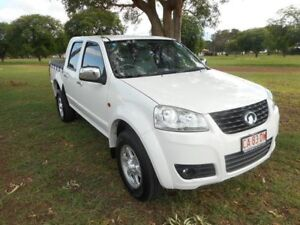 2013 Great Wall V240 K2 MY13 4x2 White 5 Speed Manual Utility