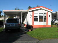 Beautiful mobile home for sale in 55+ park