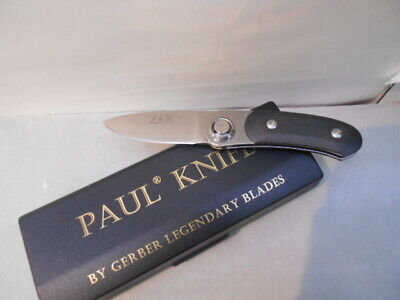 OLD GERBER PAUL KNIFE 1996 FIRST PRODUCTION RUN