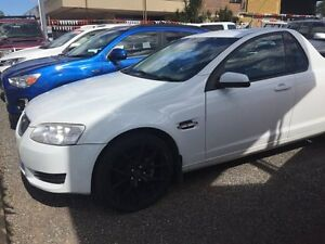 2011 Holden Commodore VEII Omega White 4 Speed Auto Active Select Utility Hidden Valley Darwin City Preview