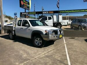 2010 Mazda BT-50 09 Upgrade Boss B3000 Freestyle DX+ White 5 Speed Manual Cab Chassis Islington Newcastle Area Preview