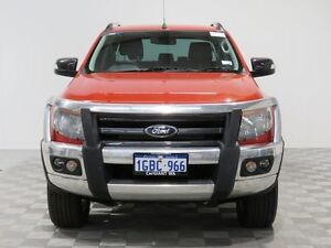 2014 Ford Ranger PX Wildtrak 3.2 (4x4) Orange 6 Speed Automatic Crewcab Jandakot Cockburn Area Preview