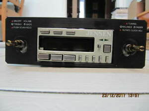Classic Vintage Rare Jensen RE 512 Shaft Car Stereo Circa 1982