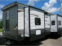 2015 CHEROKEE 39Q  2 BEDROOMS-2 BATHROOMS-$34999 FINANCING!