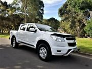 2012 Holden Colorado RG MY13 LX Crew Cab White 6 Speed Sports Automatic Utility Medindie Walkerville Area Preview