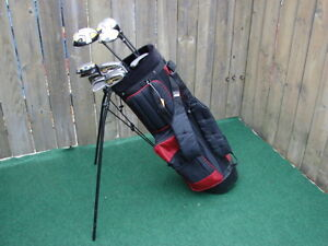 Ladies RH Golf sets Wilson Pro staff & Men's RH Nike golf sets