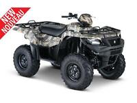 SUZUKI KINGQUAD 500 AXI POWER STEERING CAMO