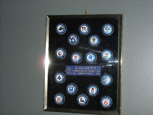Labatt's Commemorative Winter Olympic Bottle Cap Collection