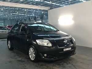 2007 Toyota Corolla ZRE152R Levin SX Black 6 Speed Manual Hatchback Beresfield Newcastle Area Preview