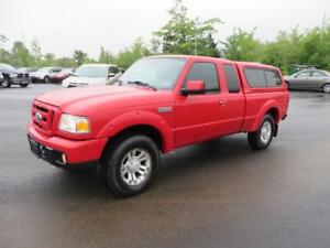 4X4 2007 Ford Ranger XLT POWER WINDOWS + A/C!!! 4X4