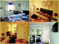£ 25 per day - 2 DOUBLE ROOMS AVAILABLE -WEEKLY - MONTHLY LET - DOUBLE ROOMS -FREE WI FI