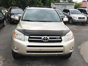 2007 Toyota RAV4 Limited,7 PASS,PL,PW,SUNROOF,CD,RADIO,CERTIFIED