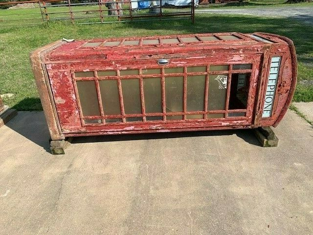 Antique English Phone Booth (cast iron)