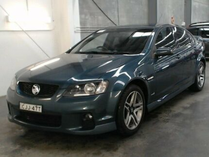 2011 Holden Commodore VE II MY12 SV6 Green 6 Speed Automatic Sedan Beresfield Newcastle Area Preview